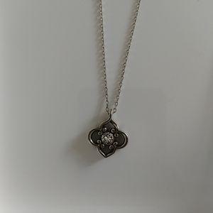 Brighton NWT Toledo Necklace Silver Plate